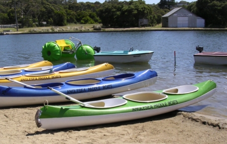 anglesea paddle boat and canoe hire
